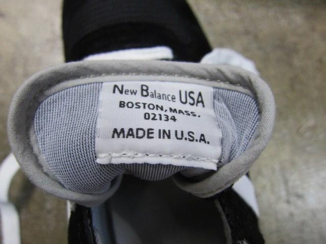 今夏の海外NB の本命!? M990 (MADE IN USA) ・・・ BLACKカラー入荷!★!_d0152280_23525459.jpg