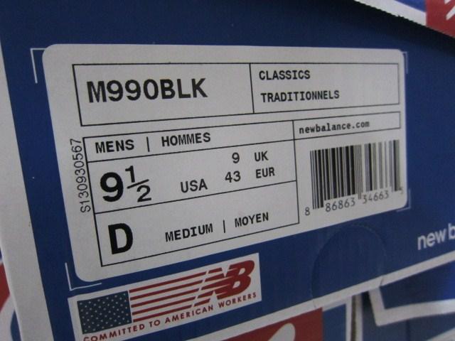 今夏の海外NB の本命!? M990 (MADE IN USA) ・・・ BLACKカラー入荷!★!_d0152280_23542990.jpg