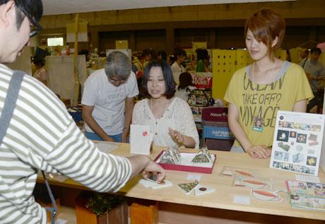 """名古屋総合デザイン専門学校在校生\""""TOFU""""のクリエーターズマーケットVol28に出店の様子_b0110019_7403766.jpg"""