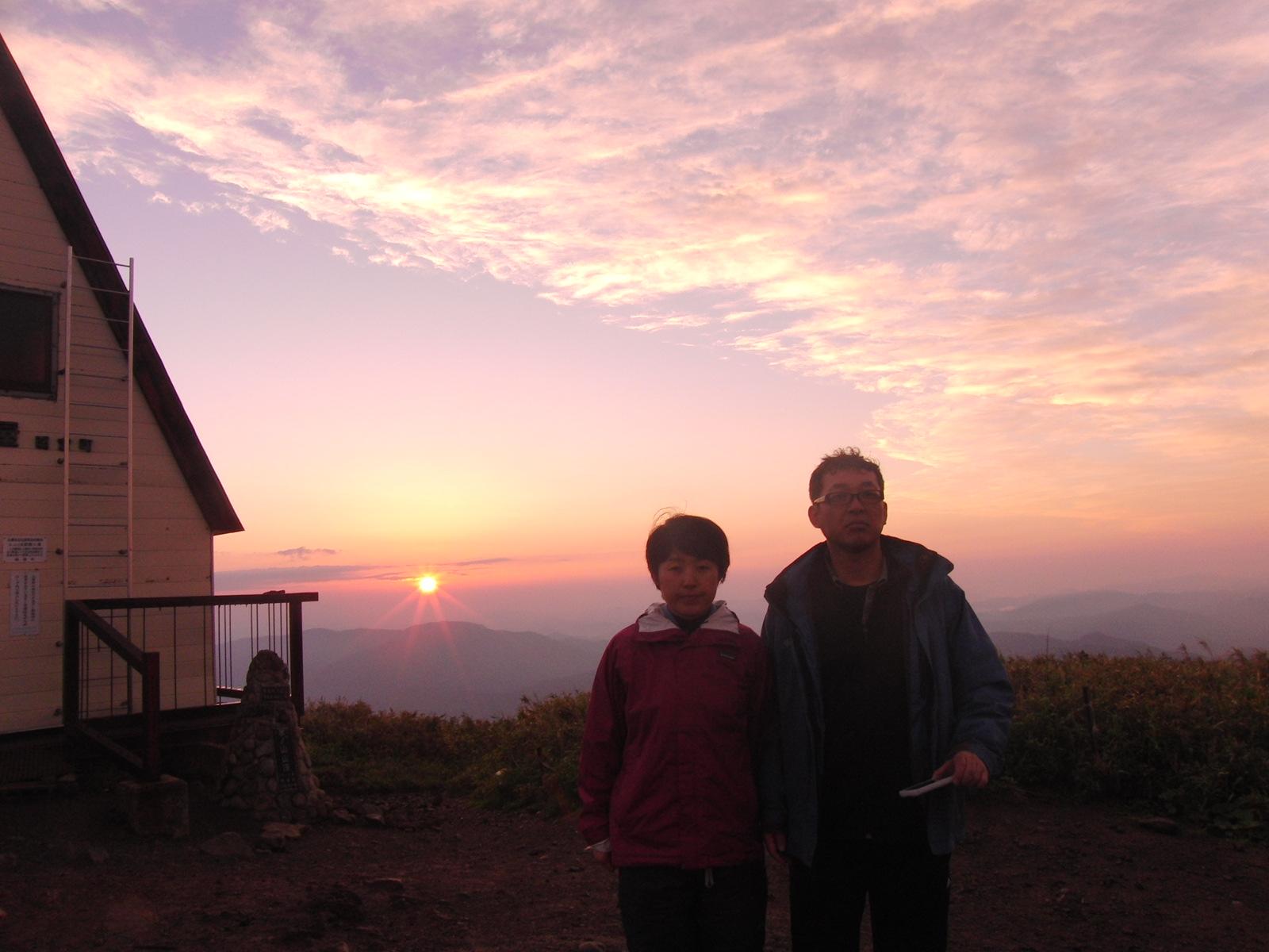 氷ノ山より朝日をプレゼント!_f0101226_1046949.jpg