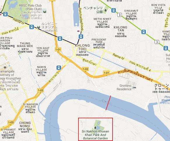 クロントイの渡し場から対岸へ、帰りは港の食堂で_c0030645_2062989.jpg