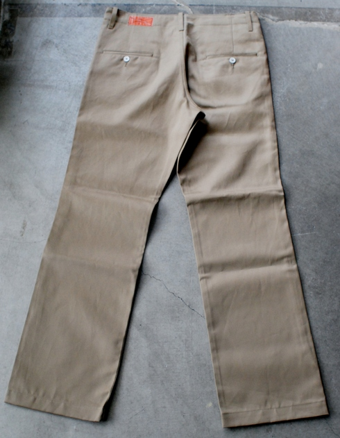 入荷案内 Heavy Gauge Chino trousers_e0254972_114126.jpg