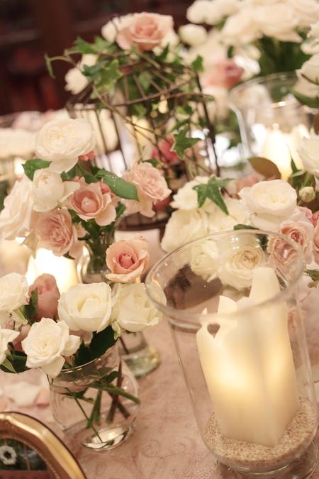 想い出の写真を飾るテーブル シェ松尾青山サロン様へ_a0042928_10545574.jpg
