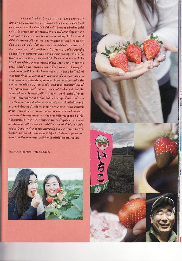タイ人はイチゴが大好き!?  旅行作家・下川裕治さんが語る「タイ人客はドーンと受け入れてあげるといい」_b0235153_145221.jpg