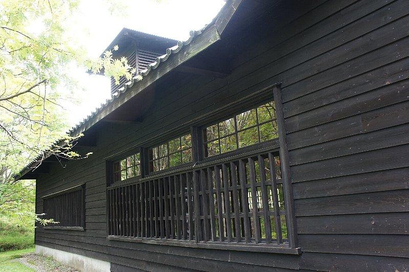 博物館網走監獄 浴場・炭焼小屋_c0112559_10201147.jpg