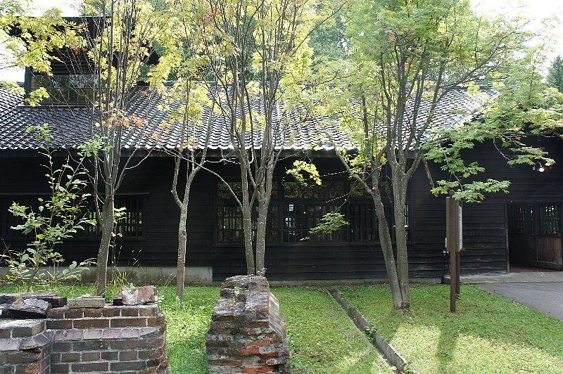 博物館網走監獄 浴場・炭焼小屋_c0112559_10204999.jpg