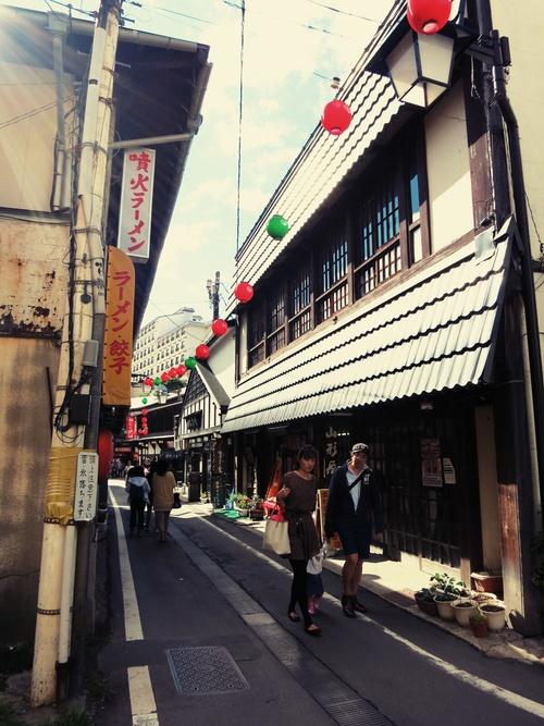 週末は、草津温泉へ♪ ②温泉街を歩く_f0236260_0513722.jpg