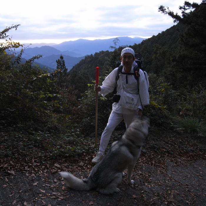 Memory of the second pilgrimage 1200km with husky HANA_c0049299_16483774.jpg