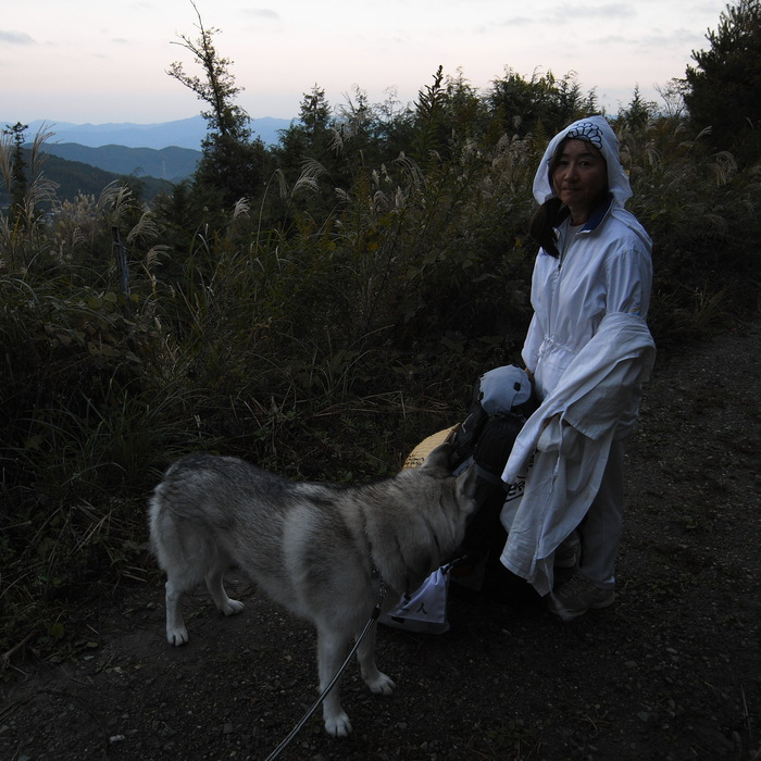 Memory of the second pilgrimage 1200km with husky HANA_c0049299_16492045.jpg