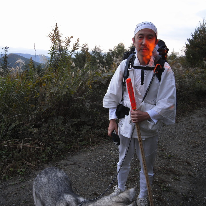 Memory of the second pilgrimage 1200km with husky HANA_c0049299_16495740.jpg