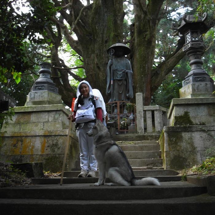 Memory of the second pilgrimage 1200km with husky HANA_c0049299_1651383.jpg