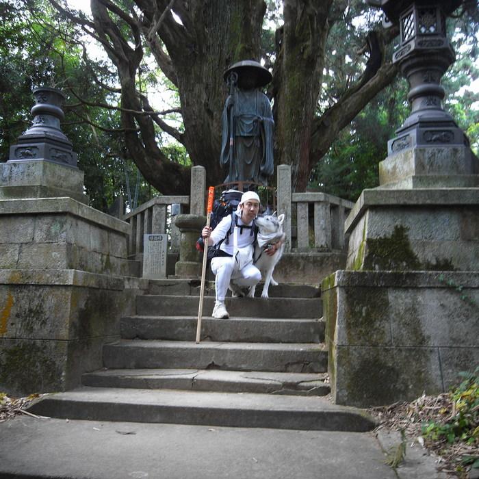 Memory of the second pilgrimage 1200km with husky HANA_c0049299_16514620.jpg