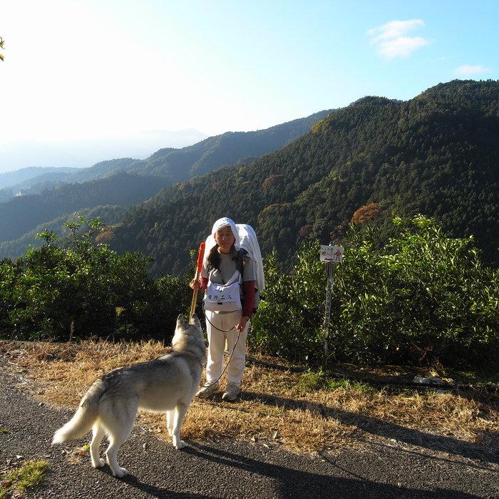 Memory of the second pilgrimage 1200km with husky HANA_c0049299_16562186.jpg