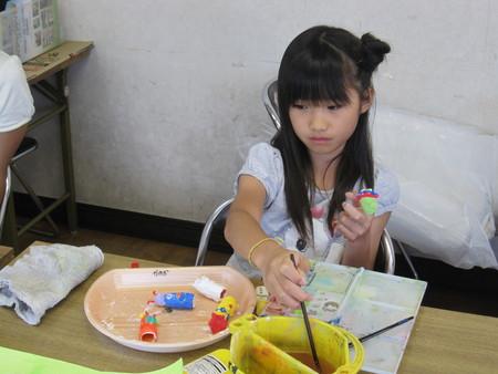 長尾教室 ~指人形作り&水彩画~_f0215199_1405428.jpg