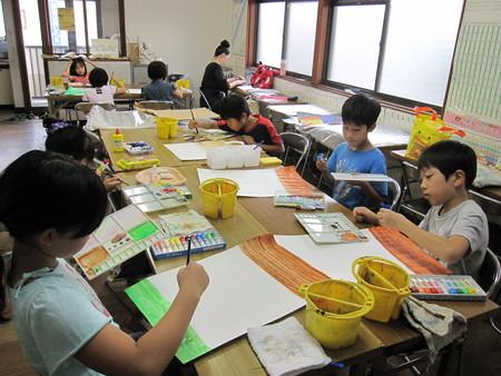 長尾教室 ~指人形作り&水彩画~_f0215199_14194918.jpg