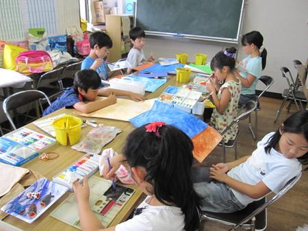 長尾教室 ~指人形作り&水彩画~_f0215199_14214212.jpg