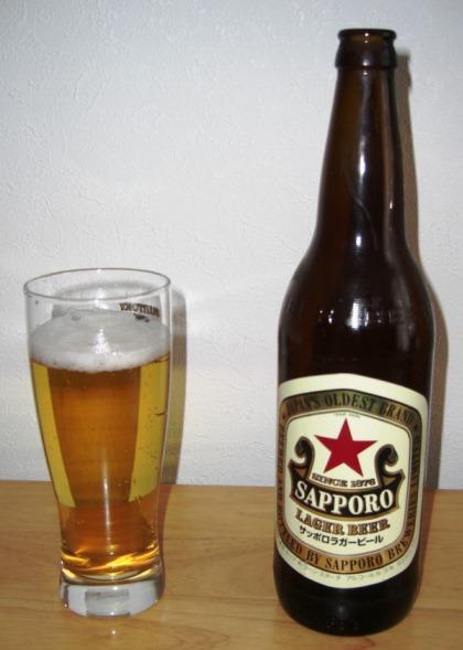 サッポロ ラガービール~麦酒酔噺その142~新発売ではないけどね。_b0081121_742679.jpg