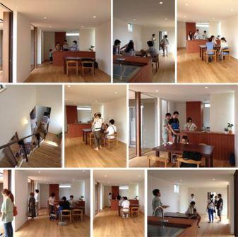 「丘に建つ回遊ウッドデッキの家」完成見学会を行いました_f0170331_17363183.jpg