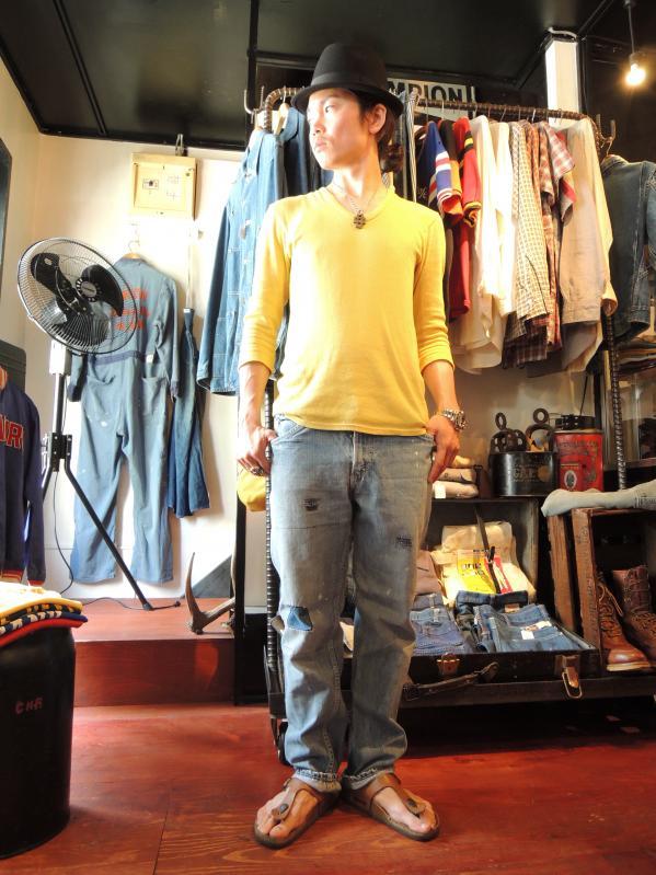 60\'s MONTGOMERY WARD DENIM PANTS--RECOMMEND--_c0176867_18443775.jpg