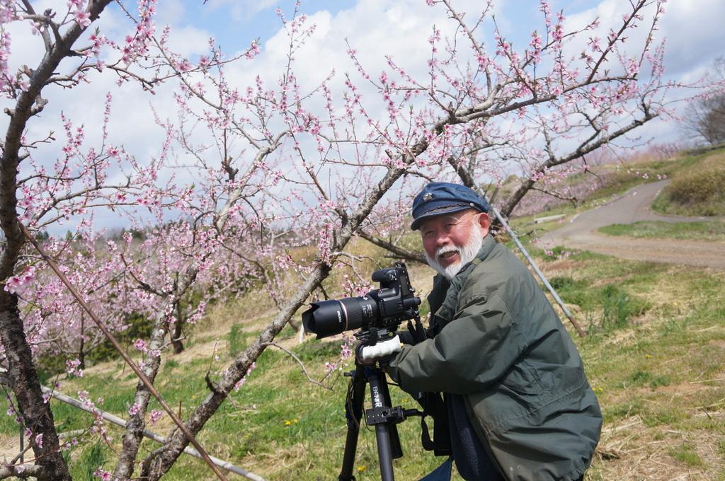 福島日記@ベルリンVol.3 桃の花とお好み焼き!_c0180686_22112321.jpg