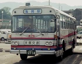 京都交通 日野K-RE101P +日野車体_e0030537_22121187.jpg