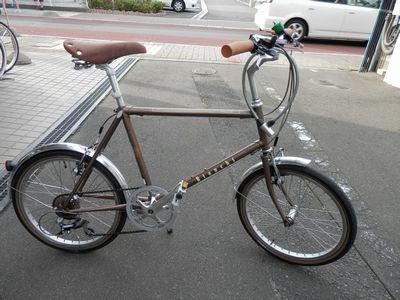 トーキョーバイク LITE 、 ビアンキ MINIVELO、_e0140354_9434795.jpg