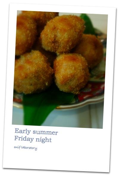 Early summer Friday night_c0156468_20392099.jpg