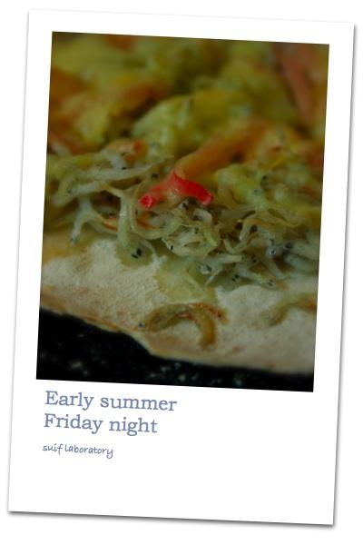 Early summer Friday night_c0156468_20434470.jpg