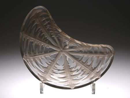 "R.lalique \""Pissenlit\"" 三日月皿_c0108595_1873218.jpg"