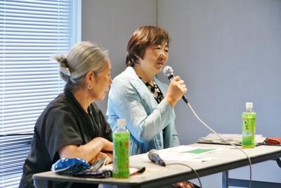 渡辺一枝トークの会「福島の声を聞こう!」6回目開催さる_d0178431_1751683.jpg
