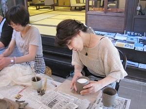 第20回 むくのき倶楽部陶芸教室_f0233340_17404621.jpg