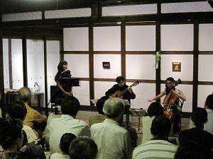第5回 東山・椋ライブ 語りと音楽の織りなす情景_f0233340_18534359.jpg