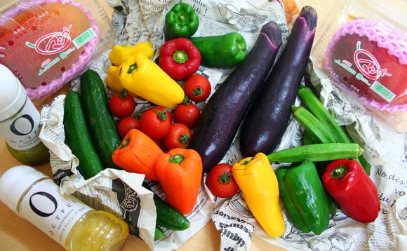お野菜どっちゃり。 _d0225610_14371671.jpg