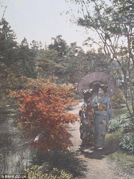 クール・ジャパン:英国で100年以上前の日本の写真発見!_e0171614_14464875.jpg