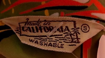 7/6(土)入荷!MADE IN CARFONIA バンブー柄 ハワイアンシャツ!_c0144020_1572970.jpg