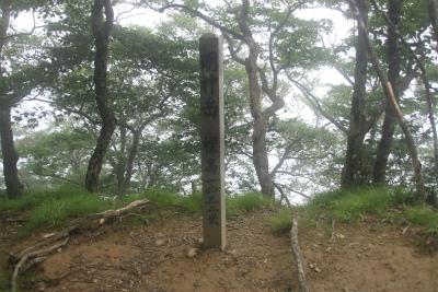 明神岳1432m ヒキウス平    三重県_d0055236_15495622.jpg