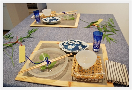 織姫たちの七夕テーブル♪ ~上級クラス_d0217944_1420662.jpg
