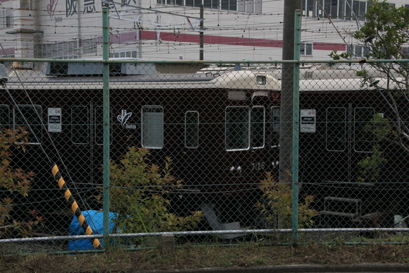 阪急正雀レポ 堺筋線66系 66602 アルナ車両から出場_d0202264_200084.jpg