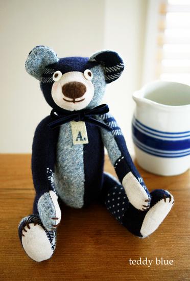 teddy navy baby  テディ ネイビーベイビー_e0253364_13135585.jpg