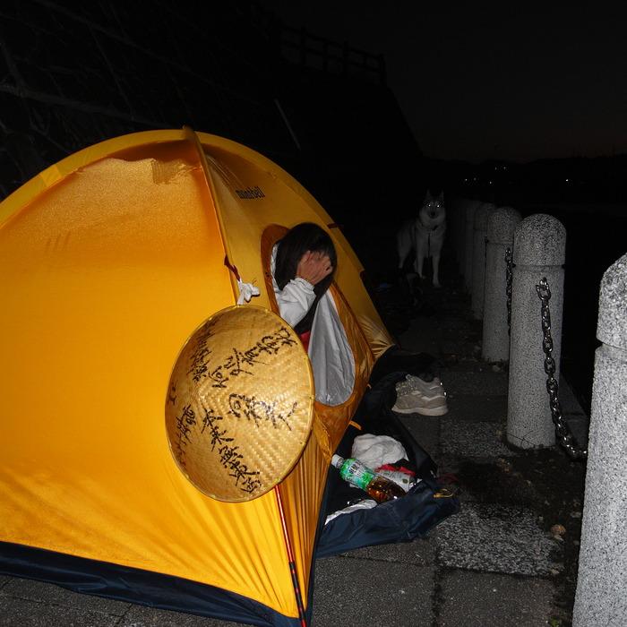 Memory of the second pilgrimage with husky HANA_c0049299_122898.jpg
