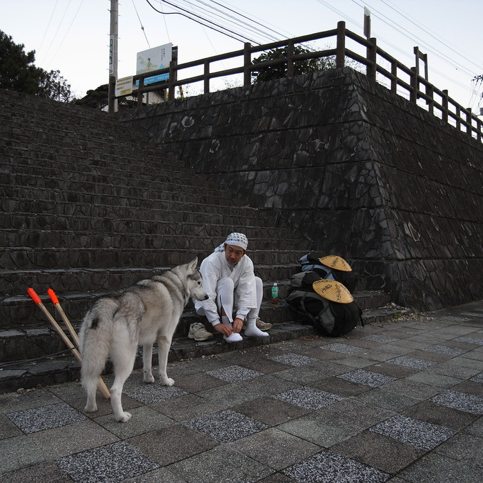 Memory of the second pilgrimage with husky HANA_c0049299_12435658.jpg