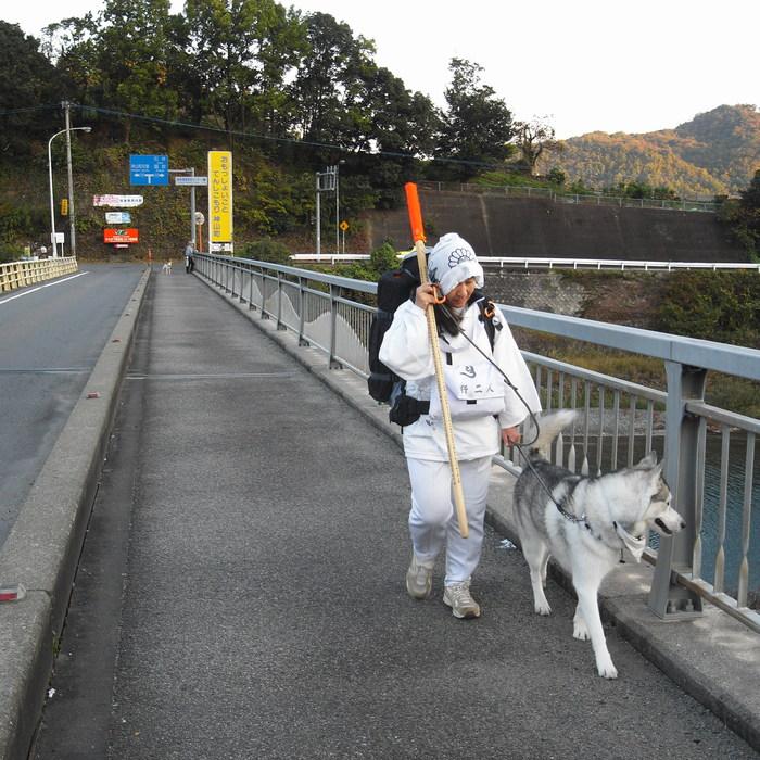 Memory of the second pilgrimage with husky HANA_c0049299_12463048.jpg