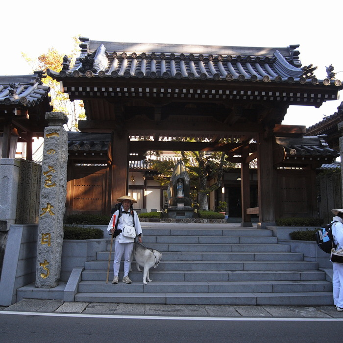 Memory of the second pilgrimage with husky HANA_c0049299_12574516.jpg
