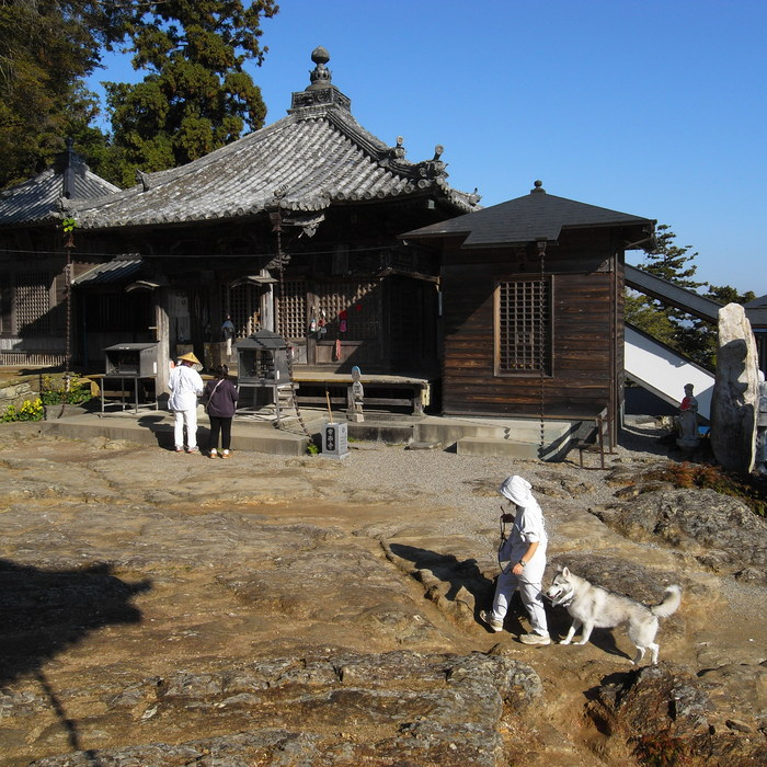Memory of the second pilgrimage with husky HANA_c0049299_13131229.jpg