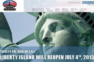 自由の女神様のあるリバティ島が8ヶ月ぶりに再オープン!!!_b0007805_011823.jpg