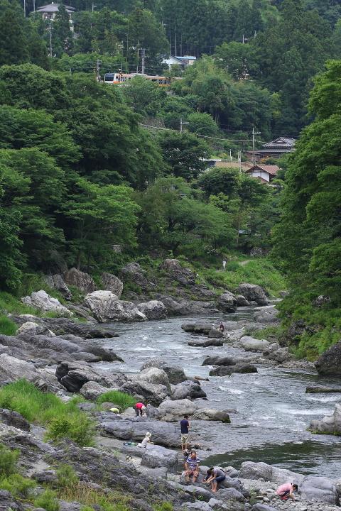 多摩川のほとりで  _b0190710_21501427.jpg