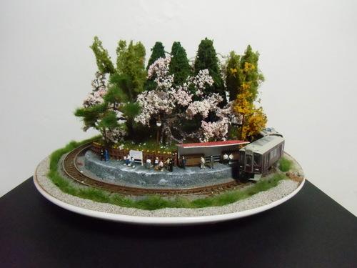 盆ラマ新作「桜と阪急電車」_f0227828_22133552.jpg