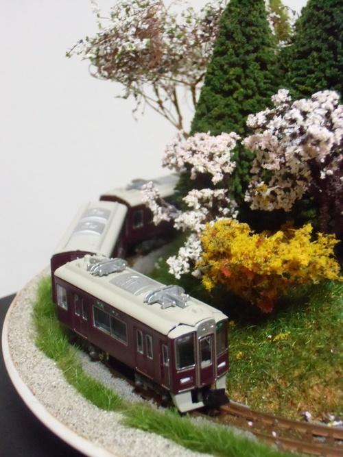 盆ラマ新作「桜と阪急電車」_f0227828_22134742.jpg