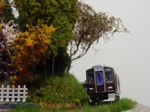 盆ラマ新作「桜と阪急電車」_f0227828_22135749.jpg
