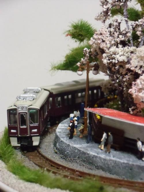 盆ラマ新作「桜と阪急電車」_f0227828_22141541.jpg